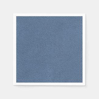 Looken av ombonat kritiserar blåttSuedestruktur Pappersservett