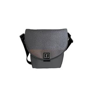 Looken för läder för messenger bagsilvergnistran kurir väska