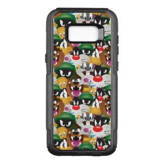 LOONEY mönster för TUNES™ Emoji OtterBox Commuter Samsung Galaxy S8+ Skal