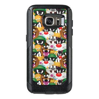 LOONEY mönster för TUNES™ Emoji OtterBox Samsung Galaxy S7 Skal
