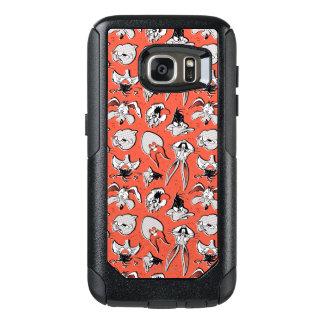 LOONEY Retro halvtonmönster för TUNES™ OtterBox Samsung Galaxy S7 Skal