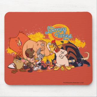 Looney trimmar den Showcasten & logotypen Musmatta