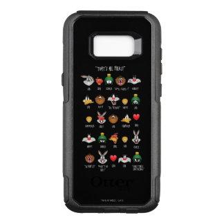 LOONEY TUNES™ Emoji kartlägger OtterBox Commuter Samsung Galaxy S8+ Skal