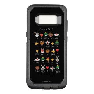 LOONEY TUNES™ Emoji kartlägger OtterBox Commuter Samsung Galaxy S8 Skal