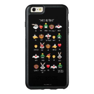 LOONEY TUNES™ Emoji kartlägger OtterBox iPhone 6/6s Plus Skal