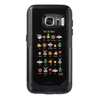 LOONEY TUNES™ Emoji kartlägger OtterBox Samsung Galaxy S7 Skal