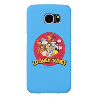 LOONEY TUNES™-teckenlogotyp Samsung Galaxy S6 Fodral