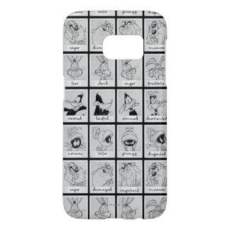LOONEY TUNES™-teckensinnesrörelse kartlägger Galaxy S5 Skal