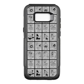 LOONEY TUNES™-teckensinnesrörelse kartlägger OtterBox Commuter Samsung Galaxy S8+ Skal