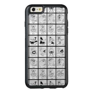 LOONEY TUNES™-teckensinnesrörelse kartlägger OtterBox iPhone 6/6s Plus Skal