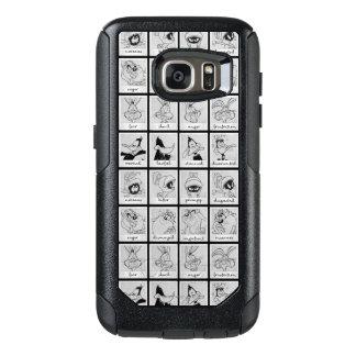LOONEY TUNES™-teckensinnesrörelse kartlägger OtterBox Samsung Galaxy S7 Skal