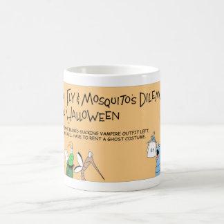 Loppa-, fluga- och myggaHalloween äventyr Kaffemugg
