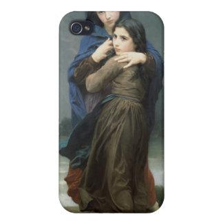 L'Orage (stormen) William-Adolphe Bouguereau iPhone 4 Fodral