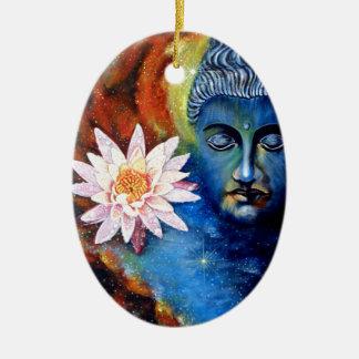 lord buddha 1 julgransprydnad keramik