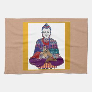 Lord Lärare Meditation för BUDDHA ledar- Yogaande Kökshandduk