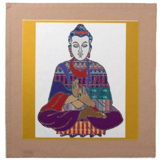 Lord Lärare Meditation för BUDDHA ledar- Yogaande Näsduk