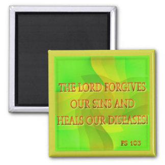 Lorden förlåter vårt syndar… magnet