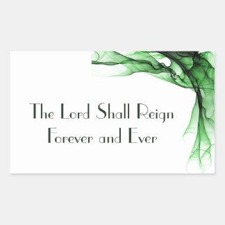 Lorden Härska För evigt och någonsin Retangel Klistermärken