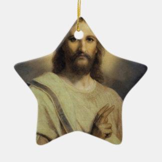 Lord'sens Avbilda - Heinrichen Hofmann Julgransprydnad Keramik