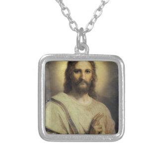 Lord'sens Avbilda - Heinrichen Hofmann Silverpläterat Halsband