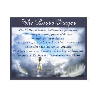 Lord'sens Bön Canvastryck