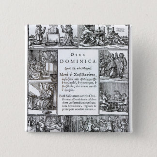 Lord'sens Dag 1639 Standard Kanpp Fyrkantig 5.1 Cm