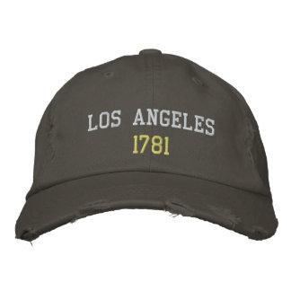 Los Angeles 1781 Broderad Keps