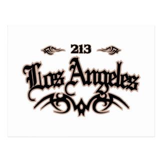 Los Angeles 213 Vykort