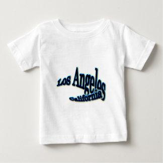Los Angeles blått vinkar Tee Shirt