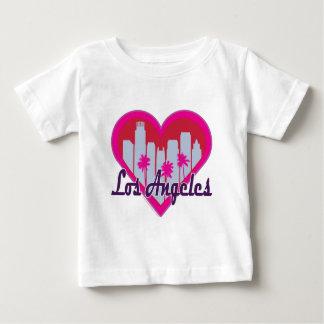 Los Angeles horisonthjärta Tee Shirt