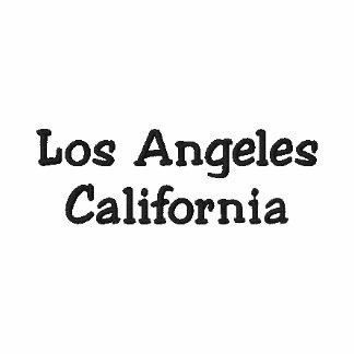 Los Angeles Kalifornien anpassadeskjorta!!! Pikétröjor