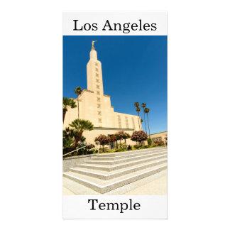 Los Angeles LDS tempel Fotokort