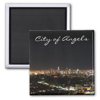 Los Angeles natt Kylskåps Magneter