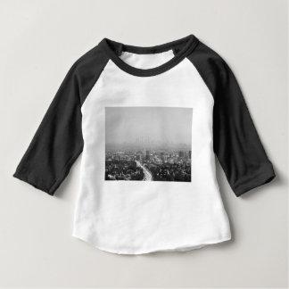 Los Angeles svartvit horisont Tshirts