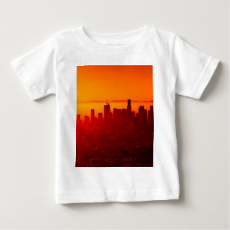 Los metar horisontsoluppgång t-shirt