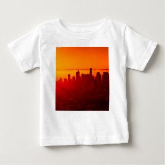Los metar horisontsoluppgång tröjor