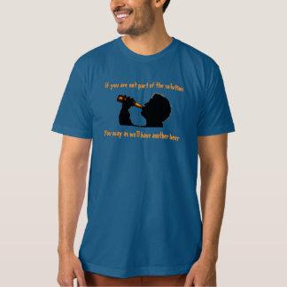 Lösningen är öl t-shirts