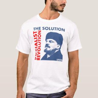 Lösningen: Socialistisk revolution Tee Shirt