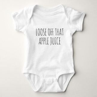 Lossa av den äppelmustbabyJumpsuit T-shirt
