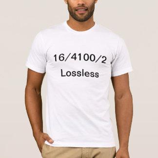 Lossless audio tee shirts