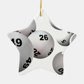 Lotteribollar Julgransprydnad Keramik