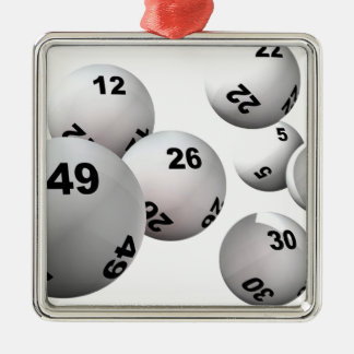 Lotteribollar Julgransprydnad Metall