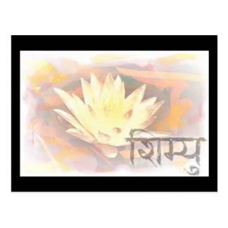 lotusblomma 44 vykort