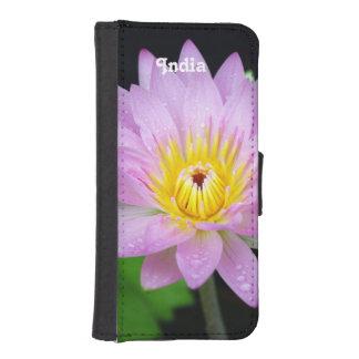 Lotusblomma i Indien iPhone 5 Plånbok Skydd