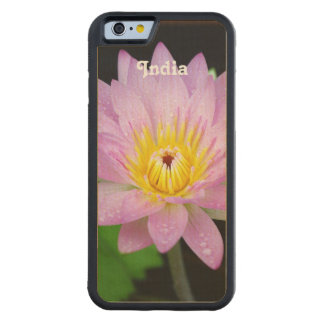 Lotusblomma i Indien iPhone 6 Fodral I Lönn