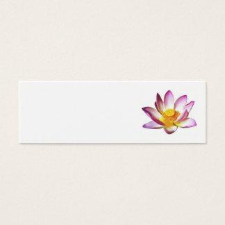 lotusblomma litet visitkort