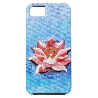 Lotusblomma och Dharma iPhone 5 Case-Mate Skydd