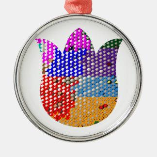 LOTUSBLOMMA Symbol av fred och renhet Julgranskulor