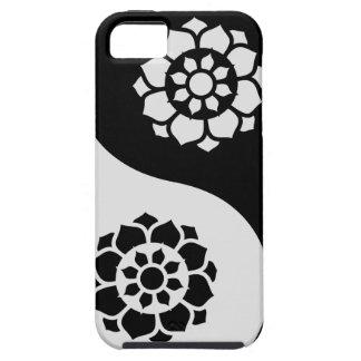 Lotusblommablomma Yin Yang iPhone 5 Case-Mate Skydd