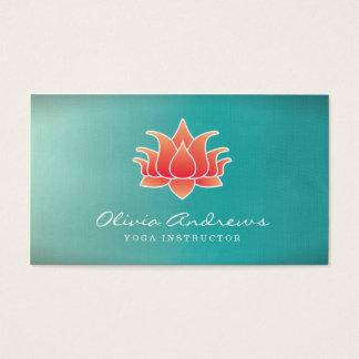 Lotusblommablommavisitkort Visitkort